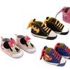 Disney Character Baby Hightop Sneakers