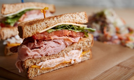 2 Sandwich or Salad Meals or Catering for 10 at Something Else Deli & Latte Express (Up to 39% Off). 6 Options.