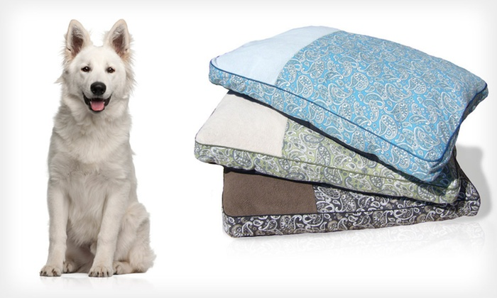 Paisley Deluxe Gusseted Pet Pillows: Nap Paisley Deluxe Pet Pillow in Large or X-Large (Up to 35% Off). Multiple Colors Available. Free Shipping and Returns.