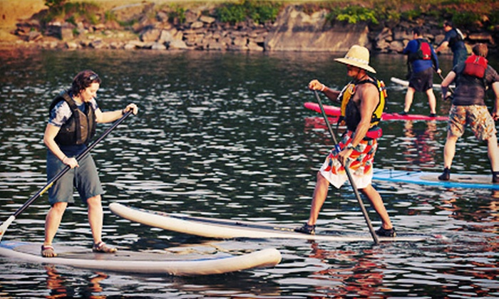 Potomac Paddlesports - Potomac: Standup-Paddleboard Fundamentals Lesson or Membership for One or Two from Potomac Paddlesports (Up to 56% Off)