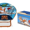 Disney Planes Collapsible Storage Chest or Saucer Chair