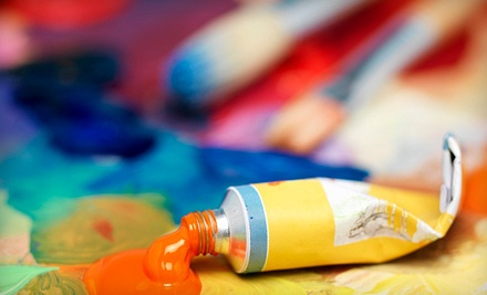 Cork and Canvas Art Class for 2 (a $60 value) - Stuart McClean Gallery in Atlanta