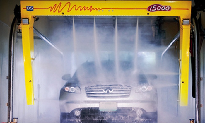 The Wave Auto Wash - Sioux Falls: 5 or 10 Deluxe Car Washes at The Wave Auto Wash (Up to 61% Off)