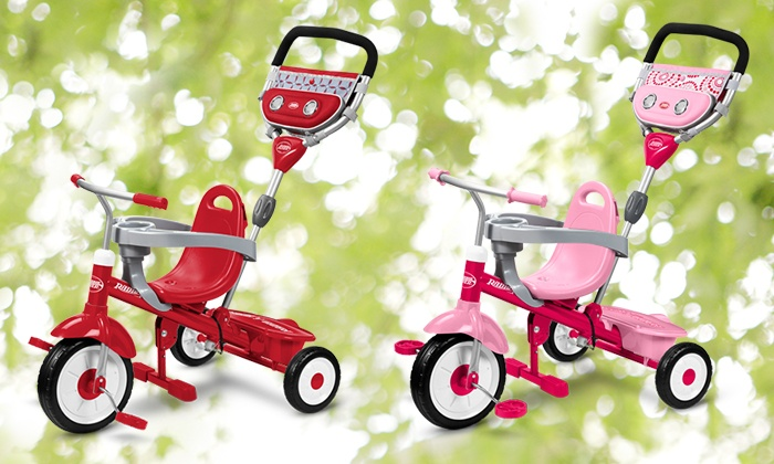 Radio Flyer: $75 for a Customized Build-A-Trike from Radio Flyer ($120 Value)