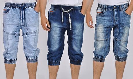 Men's Denim Jogger Shorts 32b0cb84-2aa5-11e7-abd9-00259060b5da