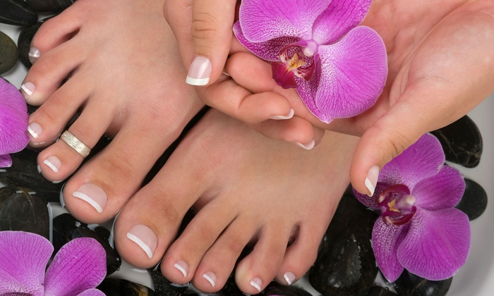 Image Resorts Beauty & Tanning Salon - Camarillo: $37 for a Gel Manicure and Regular Pedicure at Image Resorts Beauty & Tanning Salon ($75 Value)