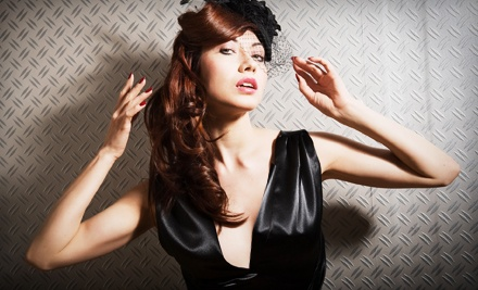 Burlesque Photo Shoot for One, Two, or Four at Salon La De Da (Up to 86% Off)