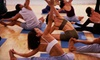 Richmond Beach Yoga- Old Ownership - Shoreline: One Month of Unlimited Classes or 10 Classes at Richmond Beach Yoga (Up to 80% Off)