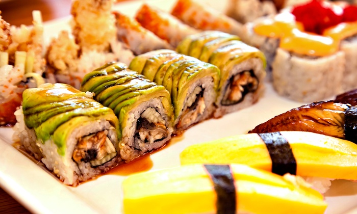 Okinawa Sushi Grill - Omaha: $15 for $25 Worth of Asian Cuisine and Beverages for Four at Okinawa Sushi Grill