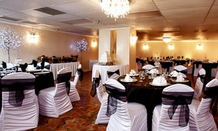 Demers Banquet Hall - Braeburn: Venue Rental for a Baby Shower or Bridal Shower at Demers Banquet Hall (Half Off). Three Options Available.