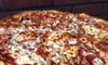 Steph's Pizza - University Place: $10 for a 14-Inch Three-Topping Pizza, NY Style with Classic Marinara Sauce at Steph's Pizza (Up to $17.99 Value)