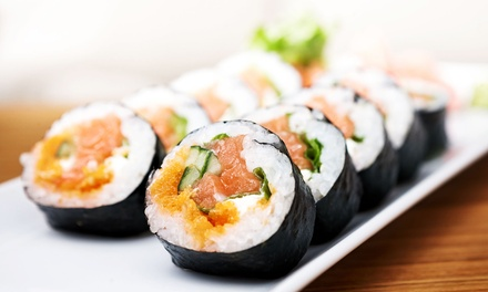 Japanese Cuisine for Dinner, or Lunch at The Sushi Village (Up to 50% Off)