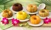 6-Pack Mini Tropical Bundt Cake Sampler: Mini Tropical Bundt Cake Sampler; 6-Pack of 4 Oz. Cakes