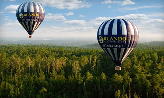 Orlando Balloon Rides - Kissimmee: Hot Air Balloon Ride for One Child or Adult from Orlando Balloon Rides (Up to 55% Off)