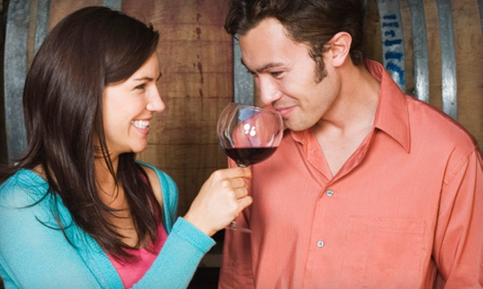 GrapesWine.com - Norwalk: Wine-Tasting Class for Two or Four with Souvenir Riedel Crystal Glasses at GrapesWine.com (75% Off)