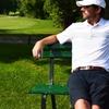 Adidas Men's ClimaLite 3-Stripe Polo Shirt
