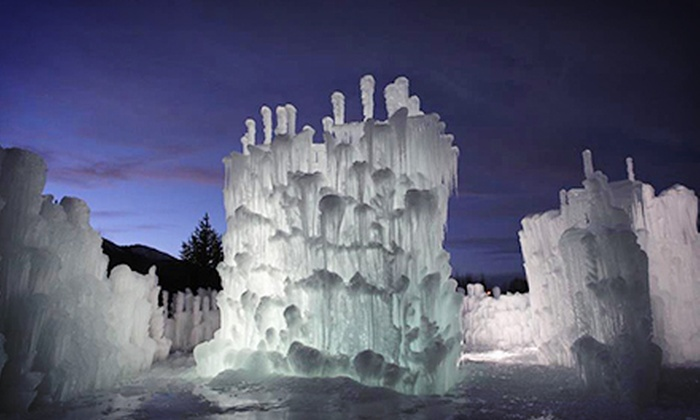 The Ice Castles - South Loop: Visit for Two or Four to The Ice Castles, Valid Monday–Thursday or Friday–Sunday (Up to 55% Off)
