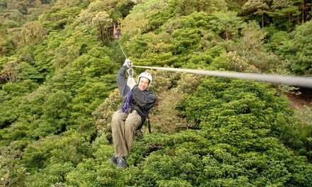 Zipline Tour for One or Two at Jayell Ranch (Up to 53% Off)