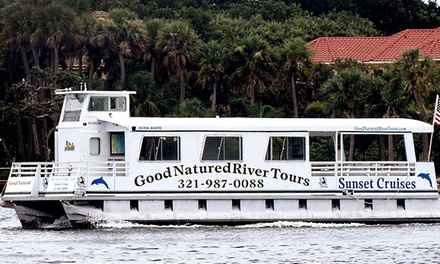 Two-Hour Scenic Wildlife Boat Tour for One, Two, or Four from Good Natured River Tours (Up to 54% Off)