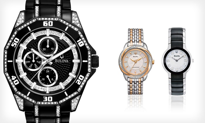 Bulova Men's and Women's Watches: Bulova Men's and Women's Watches (Up to 62% Off). 12 Styles Available. Free Shipping.