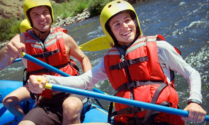 Canyon Rio Rafting - Sunnyside: Whitewater Rafting and Lunch for One, Two, or Four from Canyon Rio Rafting (Up to 54% Off)