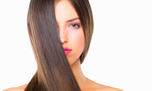 Splash Hair Designs: Japanese Hair-Straightening Treatment from Splash Hair Design with Andrea (75% Off)