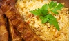 Arabi - The Embarcadero: Middle Eastern–Mediterranean Meal with Sides and Drinks for Two or Four at Arabi Cuisine (Up to 46% Off)