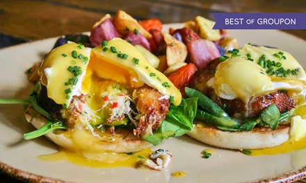 Brunch for Two or Four with Cocktails at Hubbard Inn (Up to 44% Off)