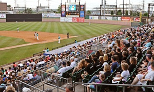 Bridgeport Bluefish: $250 for a Luxury Suite for Up to 25 People at a Bridgeport Bluefish Game at The Ballpark at Harbor Yard ($500 Value)
