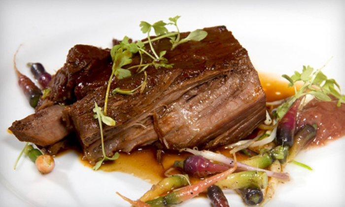 null - La Cigale French Bistro: C$22for $40 Worth of French Cuisine for Dinner at La Cigale French Bistro