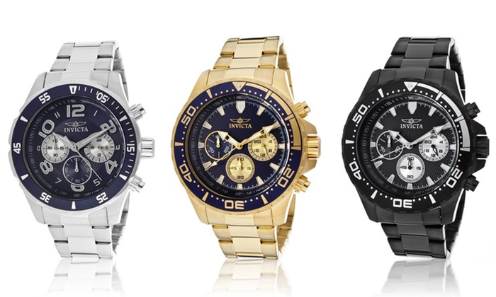Men's Invicta Pro Diver Watches: $89.99 for a Men's Invicta Pro Diver Watch ($495 List Price). 10 Options Available. Free Shipping and Free Returns.