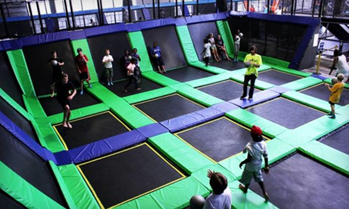 House of Air Trampoline Park - San Francisco: Trampoline Park Visit for 2, 4, or 10 at House of Air (Up to 41% Off)