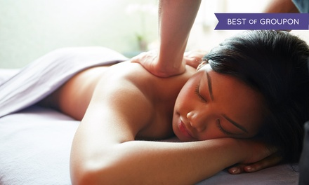 Up to 54% Off Customized Massage and Facial