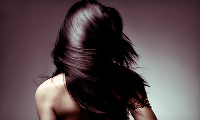 Pizzazz Hair Design - Multiple Locations: Hair-Smoothing Treatment at Pizzazz Hair Design (60% Off). Five Locations Available.