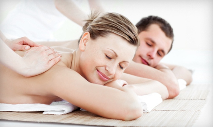 Abstract Salon & Spa - Portage: 60-Minute Couples Massage, 60-Minute Therapeutic Massage, or Spa Package at Abstract Salon & Spa (Up to 57% Off)