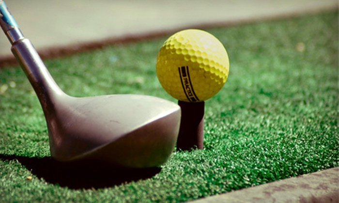 Sunset Hills Golf Course and Banquet Center - Saint Louis: $20 for Five Large Buckets of Driving-Range Balls at Sunset Hills Golf Course and Banquet Center ($50 Value)
