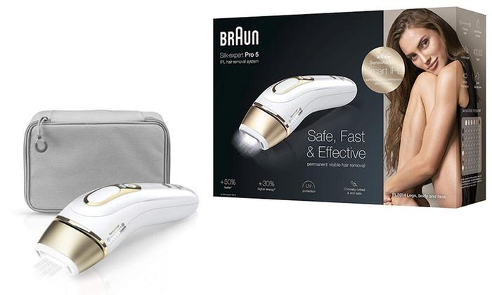 Up To 17% Off Braun Silk Expert Pro 5 PL5014 IPL Hair Reduction ...