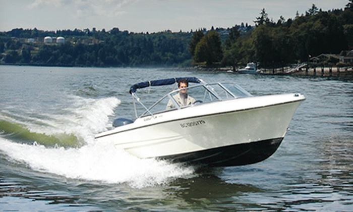 Granville Island Boat Rentals - Downtown: $30 for a One-Hour Boat Rental with Seating for Up to Five from Granville Island Boat Rentals (Up to $65 Value)