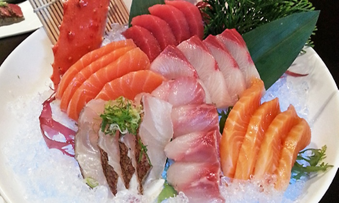 Kobe - New City: $25 for $50 Toward Sushi and Hibachi Dinner for Two or More at Kobe (Half Off)