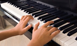 b Sharp School of Music: $22 for Four 45 Minute Crash Course Group Sessions in Piano 101 from b Sharp School of Music ($45 Value)