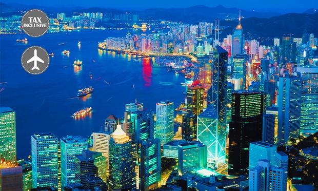 HK: United Airlines Return Flight 0