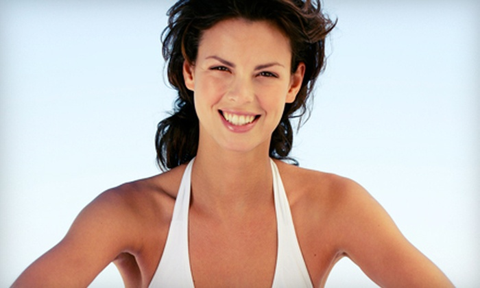 SCA Club Tan - Valencia: One or Three Spray Tans, or One Month of Unlimited Tanning at SCA Club Tan (Up to 55% Off)