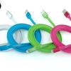 Apple-Certified 6 Ft. Flat Lightning Charge/Sync Cable