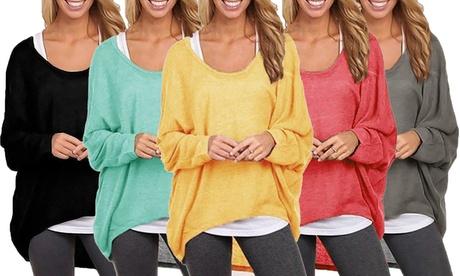 1 o 2 maglie lunghe da donna disponibile in varie taglie e...