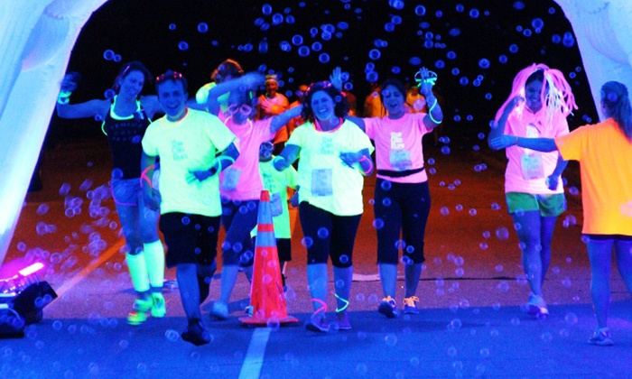 The Glo Run Columbus - Hilliard: $39 for The Glo Run 5K Entry with VIP Package on Friday, June 20 ($65 Value)