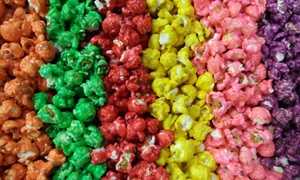 The Popcorn Fanatic: Gourmet Popcorn and Chocolates at The Popcorn Fanatic (Up to 50% Off). Three Options Available.
