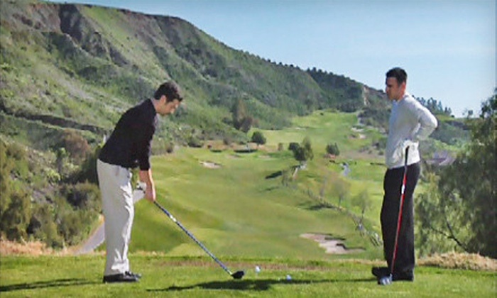 Winston Academy of Golf - Northeast San Antonio: 1, 3, 5, or 10 One-Hour Private Golf Lessons at Winston Academy of Golf (Up to 58% Off)