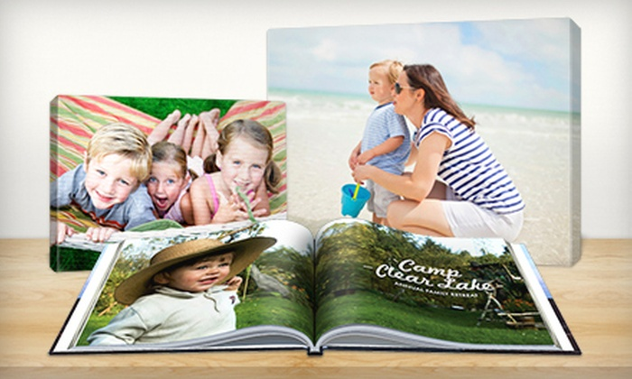 Picaboo: Customizable Photo Books, Canvas Prints, Collage Posters, and Enlargements from Picaboo (Up to 76% Off)