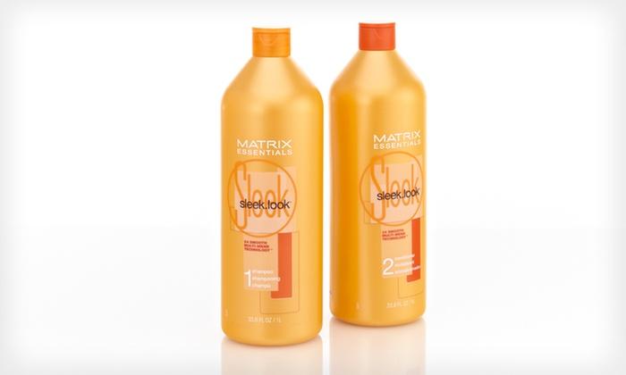 Matrix Shampoo and Conditioner: $34 for a Matrix Sleek Look Shampoo and Conditioner Duo ($51.78 List Price). Free Shipping.