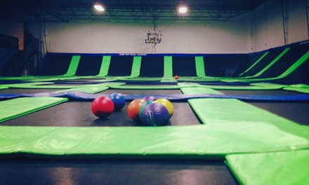 Trampoline Passes at G6 Airpark (Up to 55% Off)